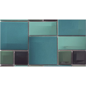 Vitra Day-To-Day Acqua Blue Mix Glossy Мозаика
