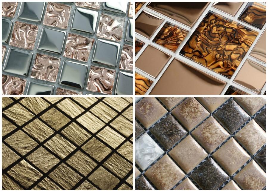 Мозаичная плитка разных размеров